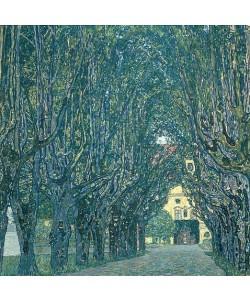 Gustav Klimt, Allee im Park von Schloß Kammer. 1912
