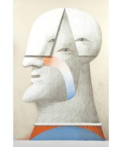 Antes Horst Portrait Dreiäugig (30) (Lithografie, handsigniert, nummeriert)