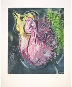 Chagall Marc Dans la Nuit (Lithographie, steinsig., #913/1000)