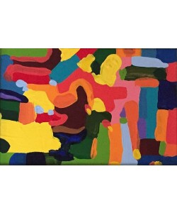 Borba Bel Abstract 1 (25) (Acryl auf Leinwand, Unikat inkl. Rahmen)