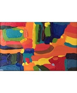 Borba Bel Abstract 2 (25) (Acryl auf Leinwand, Unikat, inkl. Rahmen)