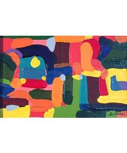 Borba Bel Abstract 3 (25) (Acryl auf Leinwand, Unikat inkl. Rahmen)