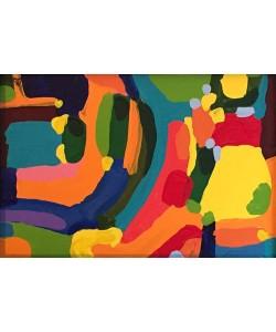 Borba Bel Abstract 4 (25) (Acryl auf Leinwand, Unikat inkl. Rahmen)