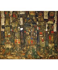 Egon Schiele, Waldandacht. 1915.