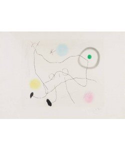 Miro Joan Crapaud Lyre (30) (Radierung, sign., numm.)