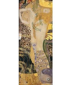 Gustav Klimt, Wasserschlangen I. 1904-1907.