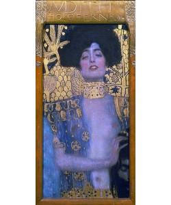 Gustav Klimt, Judith mit dem Haupt des Holofernes. 1901