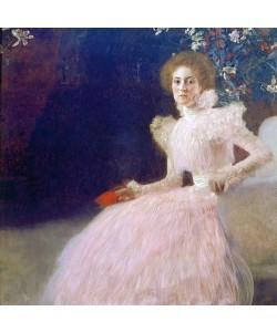 Gustav Klimt, Bildnis Sonja Knips. 1898.