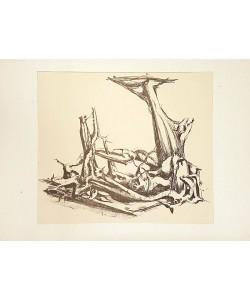 Hartung Hans Phantastisches Gerippe (20) (Lithographie)