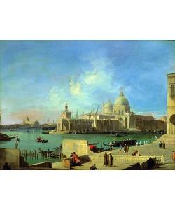 Canaletto (Giovanni Antonio Canal), Blick vom Canale Grande auf Sta. Maria della Salute, Venedig. 1727/1728