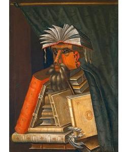 Giuseppe Arcimboldo, Der Buchhändler. 1566