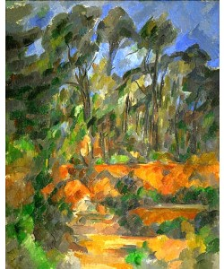 Paul Cézanne, Wald. 1902/1904