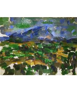 Paul Cézanne, Montagne Sainte-Victoire 1902/1906