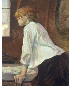 Henri de Toulouse-Lautrec, Die Waschfrau.