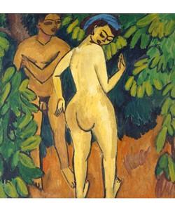 Ernst Ludwig Kirchner, Adam und Eva. 1908