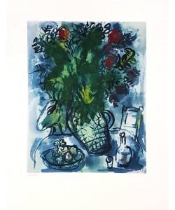 Chagall Marc O.T. (Stillleben) (Lithographie, steinsigniert, #343/500)