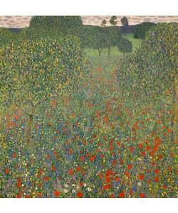 Gustav Klimt, Mohnwiese. 1907
