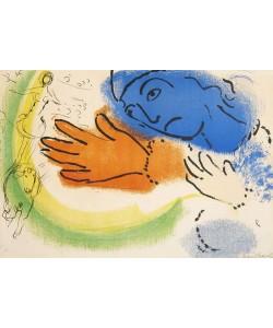 Chagall Marc L'écuyère (20) (Lithographie, signiert)