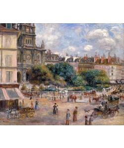 Auguste Renoir, Place de la Trinité. 1893