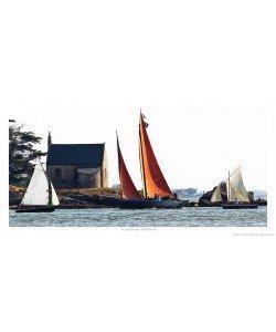 Philip Plisson, Vieux gréements dans le Golfe du Morbihan - Bretagne