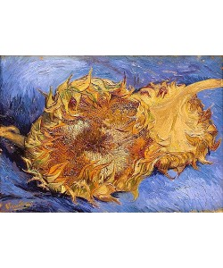 Vincent van Gogh, Zwei abgeschnittene Sonnenblumen. 1887
