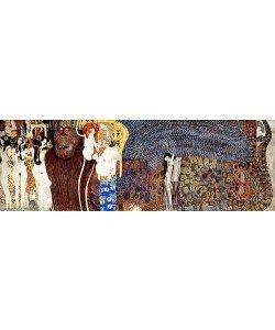 """Gustav Klimt, """"""""Beethovenfries. """"""""""""""""Die feindlichen Gewalten und nagender Kummer"""""""""""""""". (D.127)"""""""""""""""""""