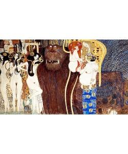 Gustav Klimt, Beethovenfries. Die feindlichen Gewalten. (D.127).