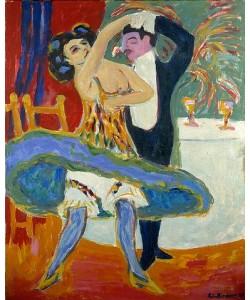 Ernst Ludwig Kirchner, Varieté. 1912/13
