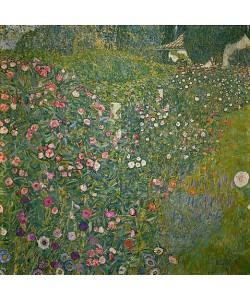 Gustav Klimt, Italienische Gartenlandschaft.