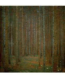 Gustav Klimt, Tannenwald. 1902