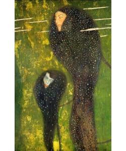 Gustav Klimt, Nixen (Silberfische).  Ca. 1902/03.