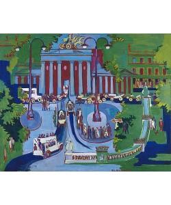 Ernst Ludwig Kirchner, Brandenburger Tor.