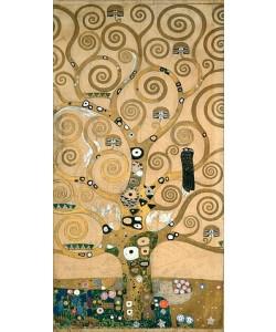 Gustav Klimt, Der Lebensbaum. Detail, Werkvorlage zum Stocletfries.