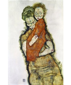 Egon Schiele, Mutter mit Kind. 1914