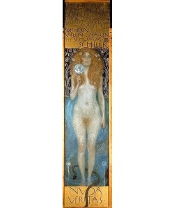 Gustav Klimt, Nuda Veritas. 1899