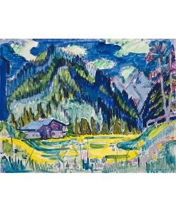 Ernst Ludwig Kirchner, Wildboden. 1924