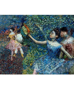 Edgar Degas, Tänzerin mit Tambourin. Um 1897