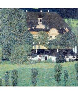 Gustav Klimt, Schloss Kammer am Attersee II. 1909.