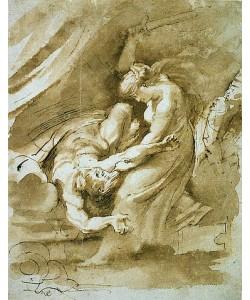 Peter Paul Rubens, Judith enthauptet Holofernes. Um 1609-10