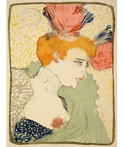 Henri de Toulouse-Lautrec, Mademoiselle Marcelle Lender, en buste. 1896