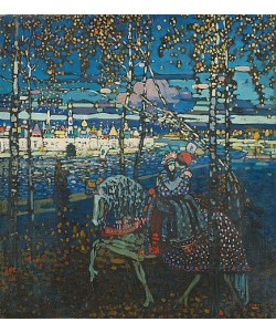 Wassily Kandinsky, Reitendes Paar. 1907