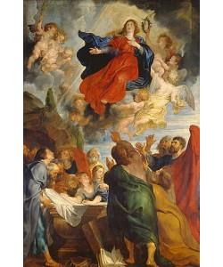 Peter Paul Rubens, Die Himmelfahrt Mariae.  Um 1616-1618
