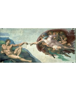 Michelangelo, Sixtinischen Kapelle: Die Erschaffung Adams. 1510