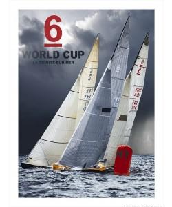 Philip Plisson, Affiche Coupe du Monde de 6 M JI