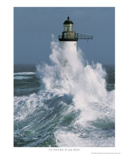 Guillaume Plisson, Le phare d'Ar-Men - Bretagne