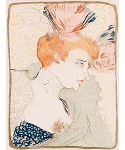 Henri de Toulouse-Lautrec, Mademoiselle Marcelle Lender En Buste. 1895