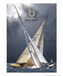 Philip Plisson, Voile - 6 mètres JI - Coupe du Monde