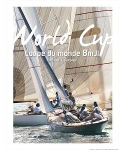 Philip Plisson, Coupe du monde 2014 de 8 mètres JI - La Trinité sur mer