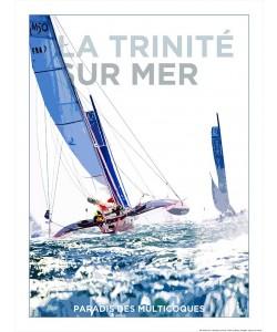 Philip Plisson, Affiche La Trinité sur Mer Paradis des multicoques