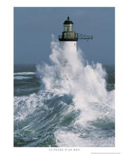 Guillaume Plisson, Le phare d'Ar-Men - Bretagne